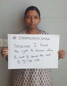 #StrengthToSayNo - Image: Facebook media