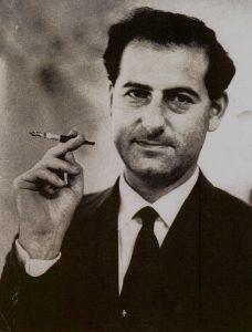 Peter Owen, 1950s portrait