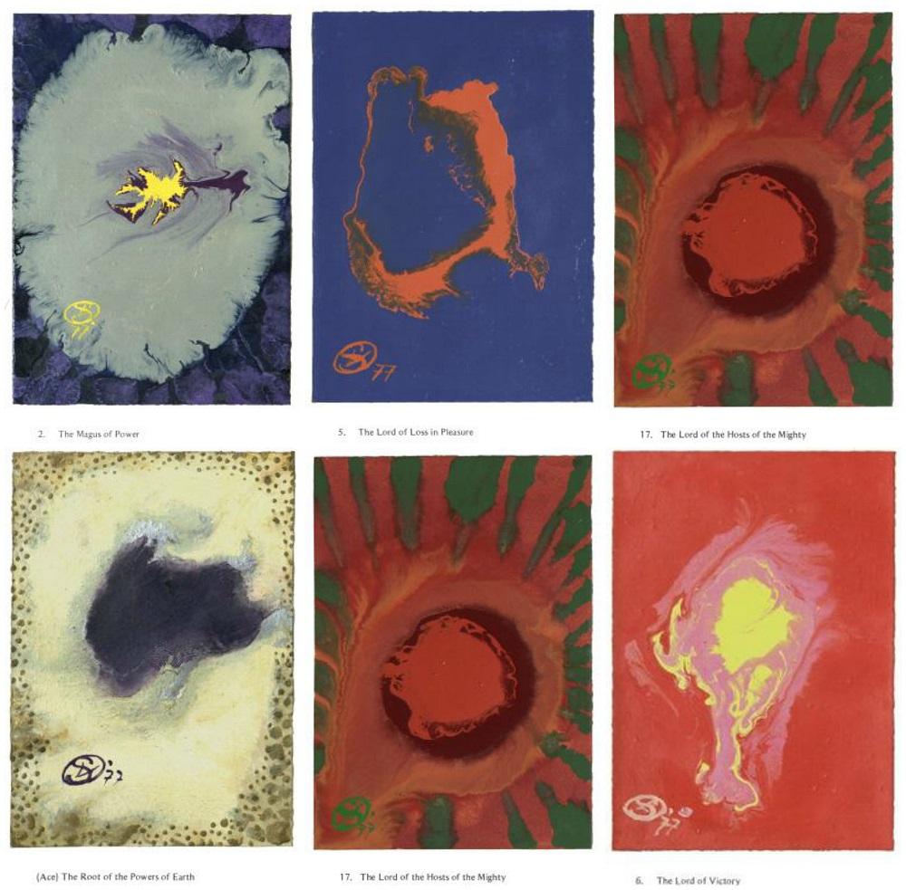 Ithell Colquhoun's Tarot cards
